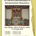 Concorso Internazionale di Interpretazione Organistica di Fano
