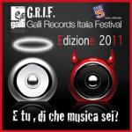 Concorso musicale Galli Records Italia Festival – edizione 2011