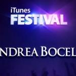 Andrea Bocelli all'iTunes Festival di Londra