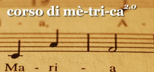 Corso di metrica 2.0: scrivere testi per canzoni