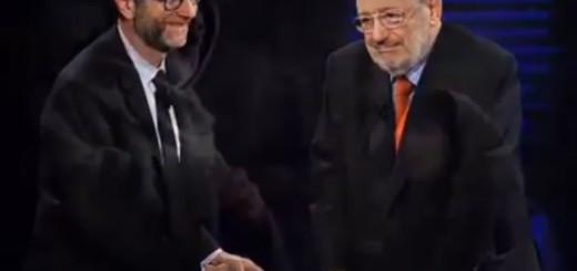 Umberto Eco e Fabio Fazio