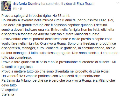 Stefania Domina - Indie Sounds Better