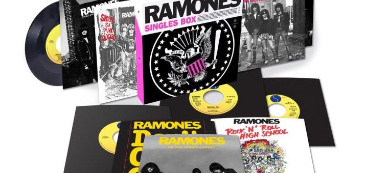 Ramones, singles box '76-'79