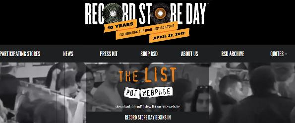 http://www.recordstoreday.com/