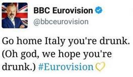 BBC contro Gabbani su Twitter