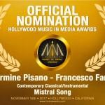 Carmine Pisano e Francesco Farro: due italiani a Hollywood music in media awards