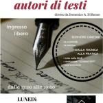 Corso completo per autori di testi, 9 aprile 2018 - Morciano di Romagna