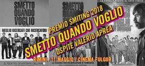 """Smiting Festival 2018 conclude in grande con il Premio Smiting a """"Smetto quando voglio"""""""
