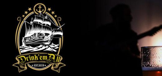 """Arriva """"DRINK 'EM ALL"""", la birra pensata e prodotta da DIEGO 'DD' CAVALLOTTI, chitarrista dei LACUNA COIL!"""