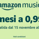 Amazon Music Unlimited in offerta speciale: 3 mesi a 0,99 euro