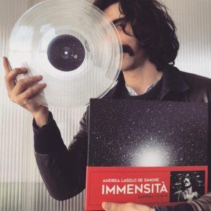 Andrea Laszlo De Simone -Immensità Vinile trasparente