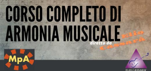 Corso completo di Armonia Musicale
