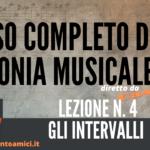 Corso di Armonia Musicale: 4 – Gli Intervalli