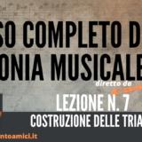 Corso completo di Armonia Musicale - lezione n. 7