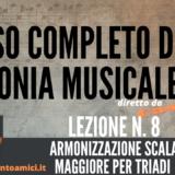 Corso completo di Armonia Musicale - lezione n. 8
