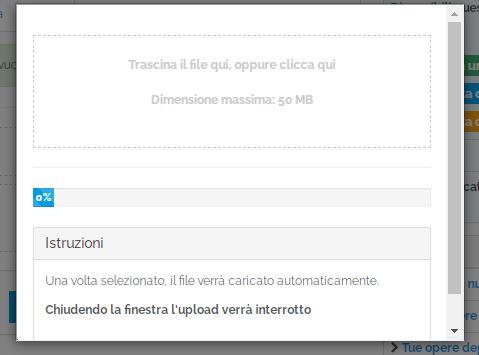 Patamu: modulo upload file opera