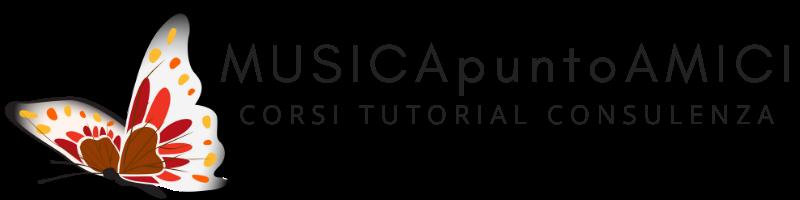 Logo MUSICApuntoAMICI - Corsi Tutorial Consulenza